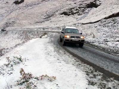 """גאורגיה בחורף – טיול 4X4 של חברת """"עופר וג'יפ"""""""