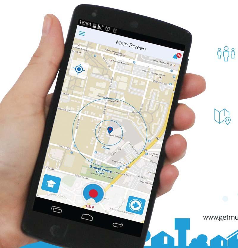 אפליקציית המוסקיטר מהצילה חיים