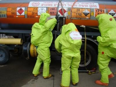נצרת: פונה בניין משרדים מחשש לדליפת חומר מסוכן