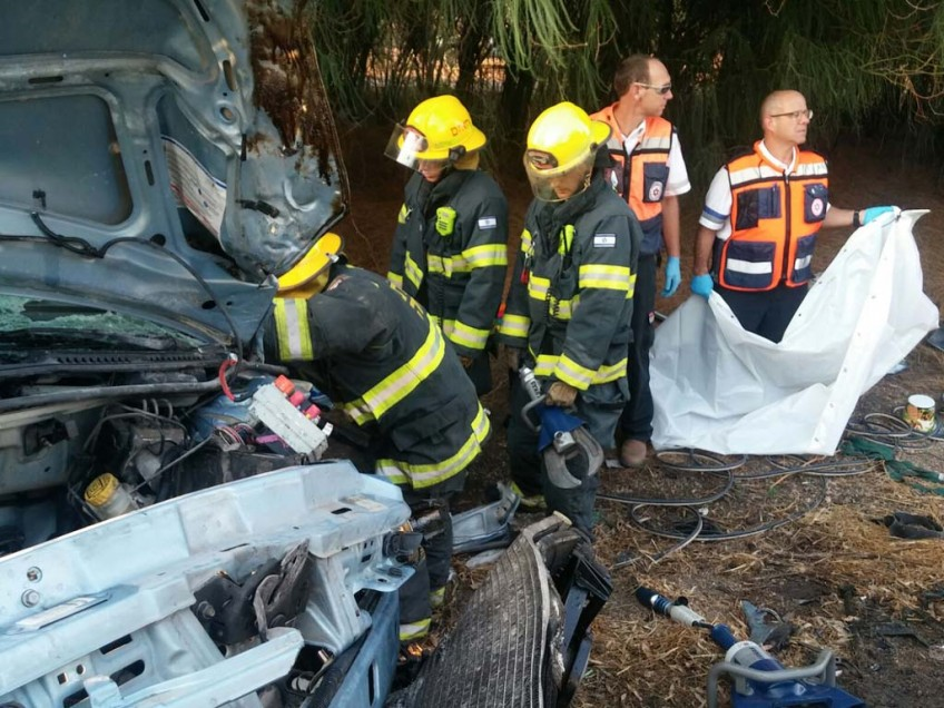 תאונה: תאונה קטלנית ליד צומת גניגר