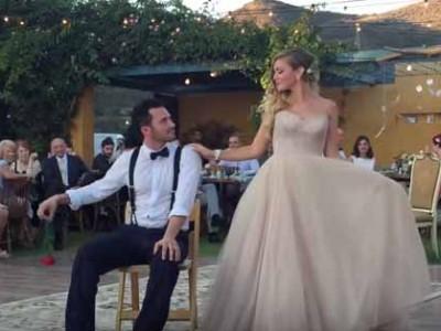 ריקוד החתונה שישאיר אתכם עם פה פעור