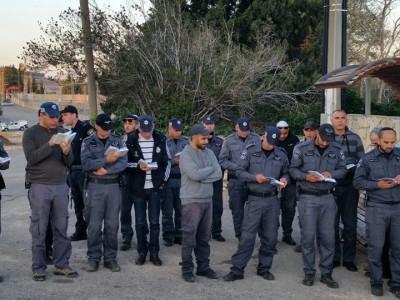 מרגש: שוטרי נצרת במחווה אמיתית מהלב