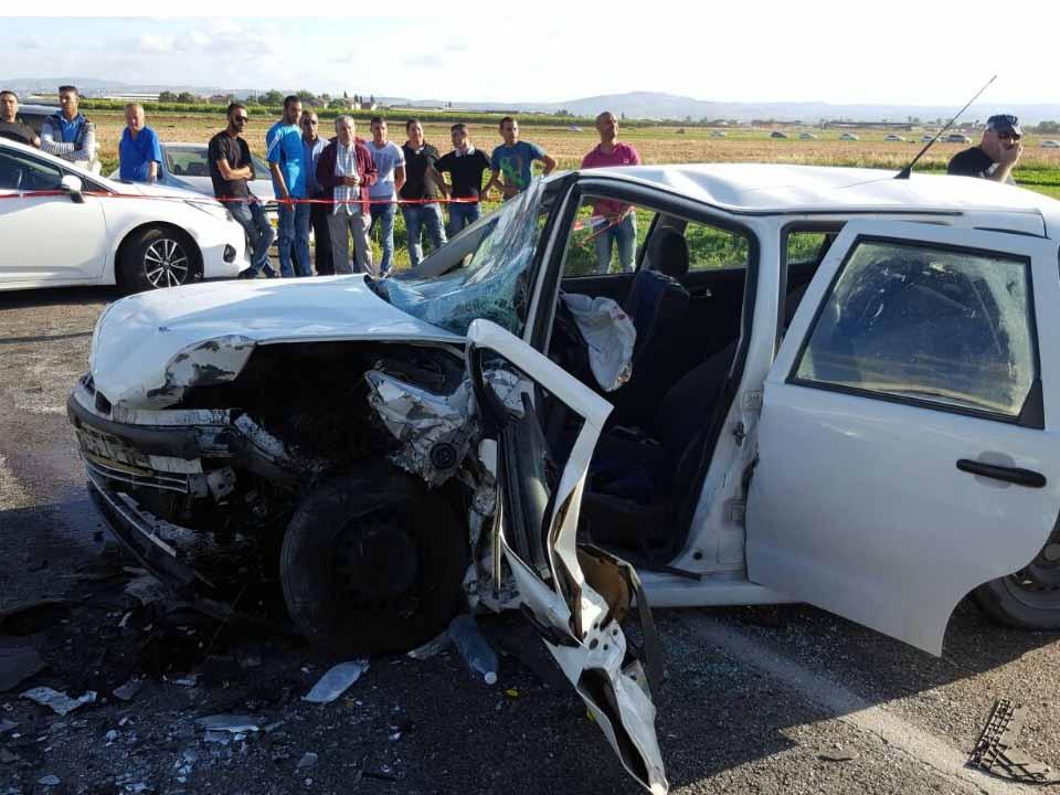 ממשיך לדמם: תאונה קשה בכביש 60 בין צומת יזרעאל לגן נר