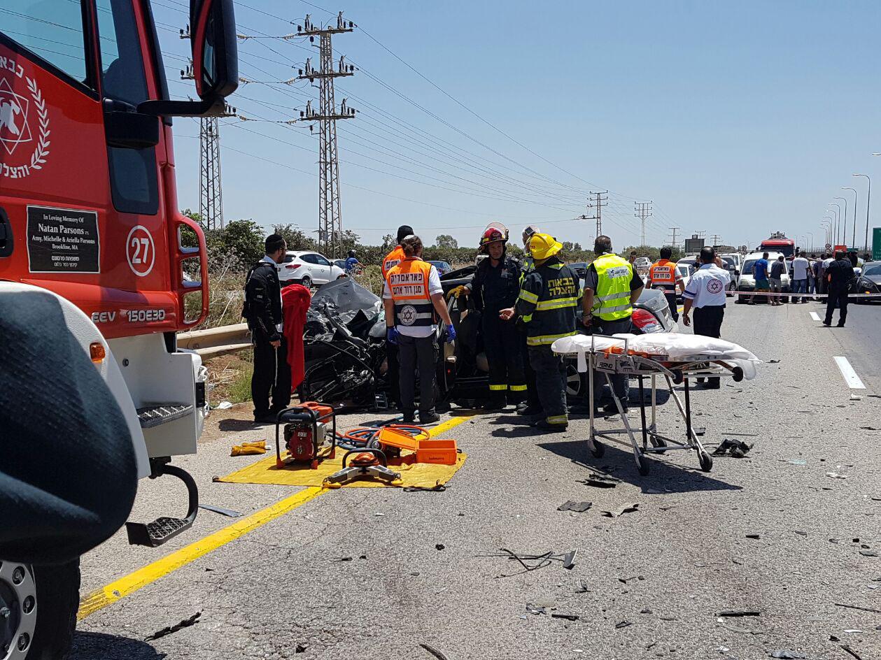 תאונה: איש עסקים מוכר מהעמק נהרג בתאונה קשה במחלף נבות