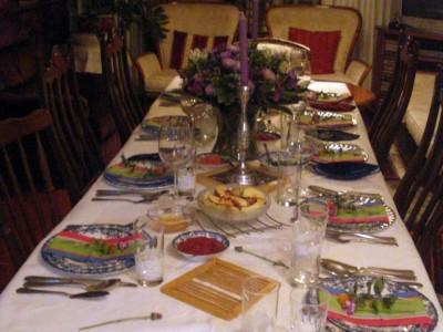 איך עוברים בשלום את שולחן החג עם הילדים?