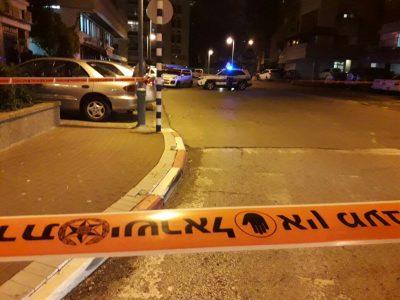 מפחיד: ירי במרכז העיר עפולה