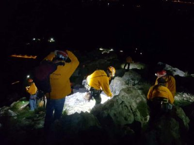 מצוק ארבל: שלושה מטיילים חולצו בחילוץ משולב