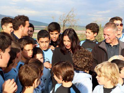 גלבוע: השרה מירי רגב ביקרה במוקיבלה ובקיבוץ יזרעאל