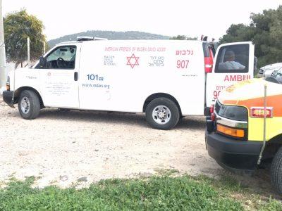 סמוך לבית השיטה: 2 תינוקות וחמישה ילדים נפגעו בתאונת דרכים