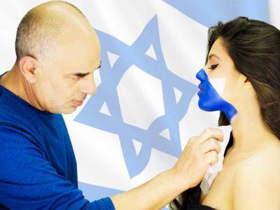 מור בן מויאל המדהימה מתכוננת לעצמאות באיפור כחול לבן אצל הגורו בועז שטיין. פלאש! – רכילות בעמק