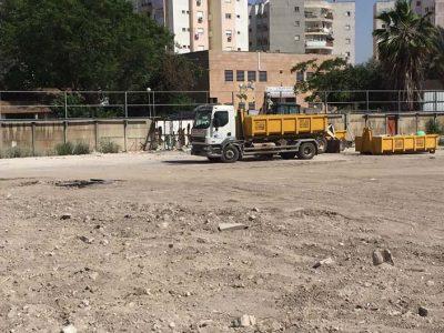ככה לא בונים חומה: נהרס מגרש הכדורגל המיתולוגי בעפולה