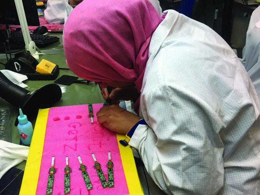נשים בדואיות משתלבות בתעשיית ההיי טק במגדל העמק