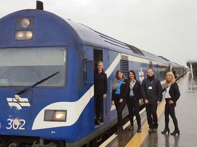 """תכירו: ה""""כוח הנשי"""" שמפעיל את רכבת העמק"""