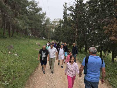 """חדש בצעדת יערות גבעת המורה ה-49 בעפולה: """"מסלול בשלייקס"""""""