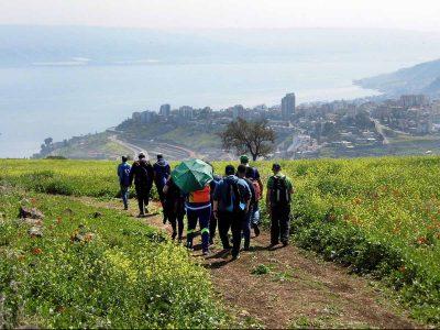 """שביל הסנהדרין: השבוע ייחשף באזור- שביל טיולים """"חכם"""" ויחיד מסוגו בארץ"""