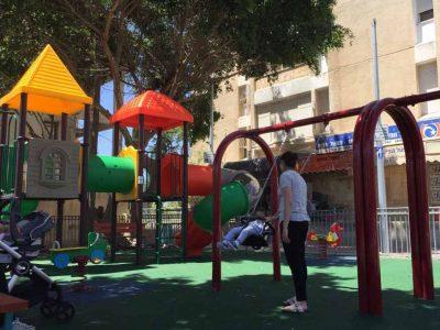 תושבי נצרת עילית- תתחדשו: הוקמו ארבע גינות משחקים חדשות עם מתקני כושר ציבוריים