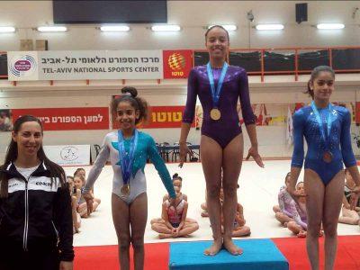 עמק יזרעאל: הישגים נאים לנבחרת ההתעמלות באליפות ישראל