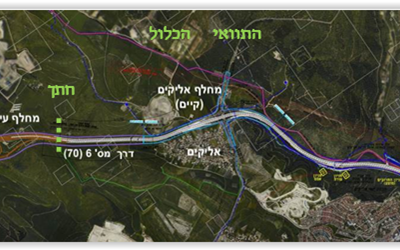 חברת כביש חוצה ישראל ממשיכה בפיתוח חלקו הצפוני של כביש 6