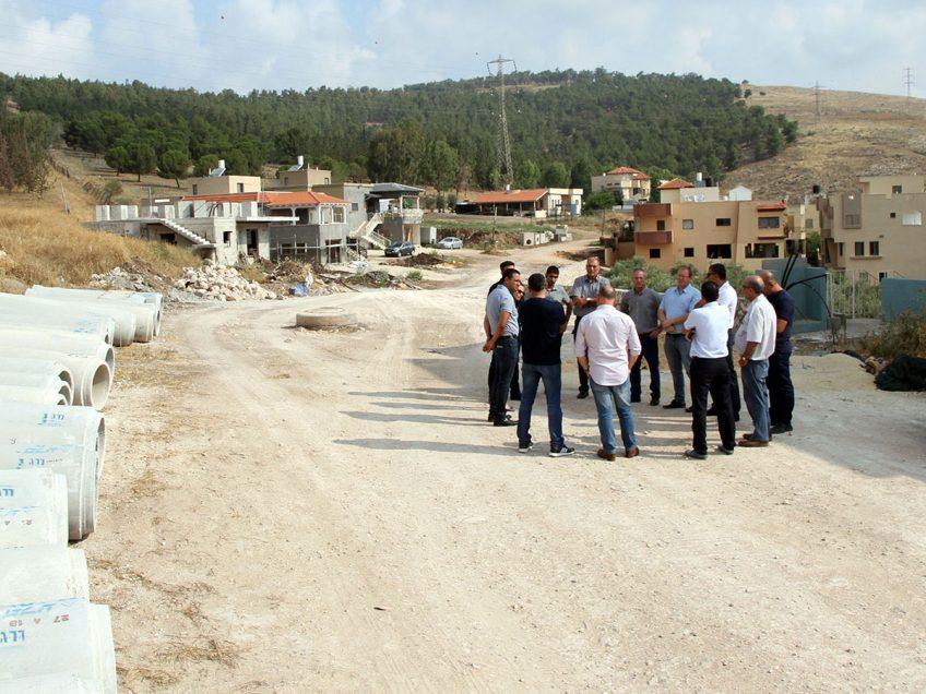 נאעורה: תחילת שיווק קרקעות לבניית השכונה המערבית החדשה
