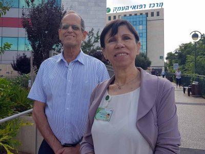 """מנכ""""ל בנק ישראל חזי ביקר במרכז רפואי העמק"""