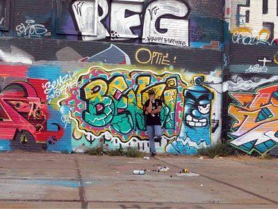 קירות מדברים: אומן הגרפיטי ממגדל העמק כבש את קירות אמסטרדם