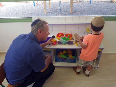 בהשקעה של כ-1.3 מיליון שקל: גן ילדים חדש בגדעונה
