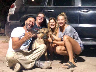 לוקה הכלבה שבה הביתה שנה בדיוק לאחר שאבדה