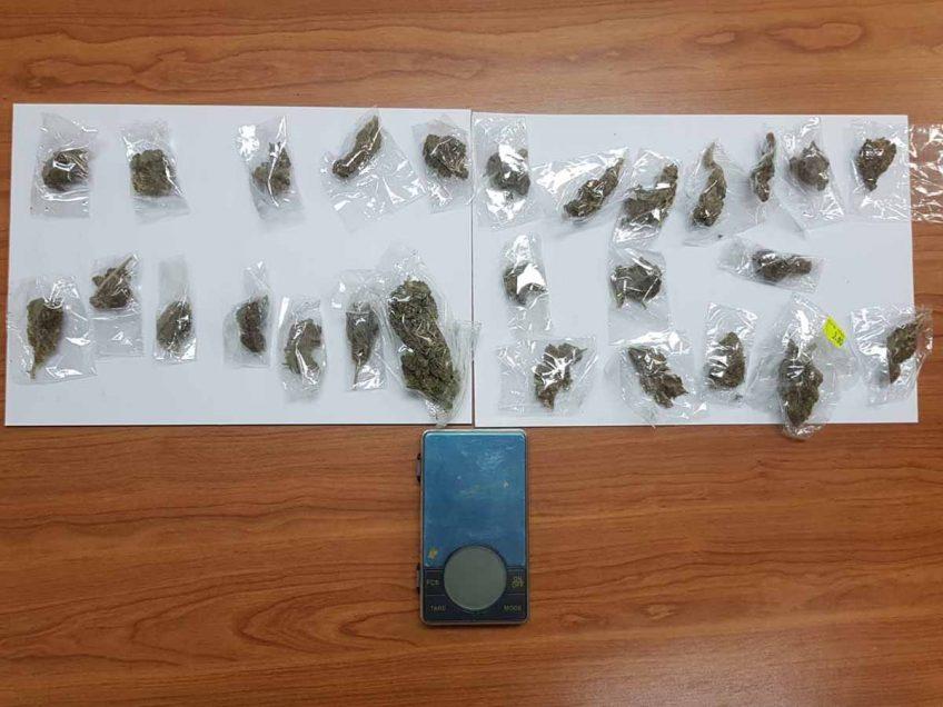 בית שאן: שני צעירים נעצרו בחשד לסחר בסם
