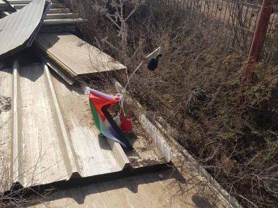 תענך: בלון עם דגל פלסטין אותר במושב מלאה