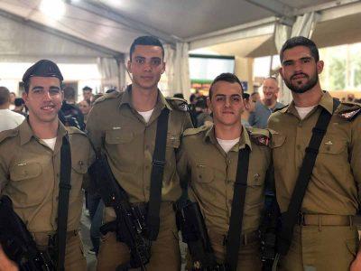 """עמק יזרעאל: מובילים באחוזי הגיוס ושירות משמעותי בצה""""ל"""