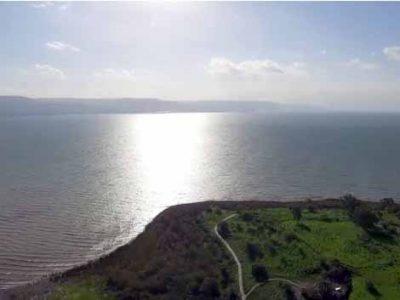 הכנרת: כמות מים אדירה זרמה לאגם הלאומי