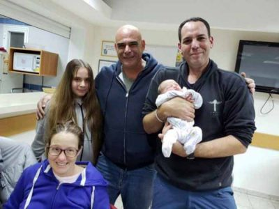 מרגש: עובד חברת חשמל מגן נר הוקפץ לסייע ליולדת ברמת צבי