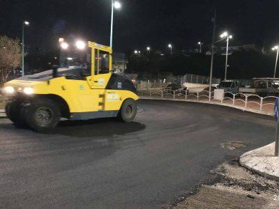"""עיריית נצרת עילית הסדירה את """"צומת הפקק"""" בכניסה לדודג' סנטר"""