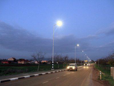 """""""ויהי אור"""": מערכת תאורה חדשה – מצומת יזרעאל ועד המושב מיטב"""