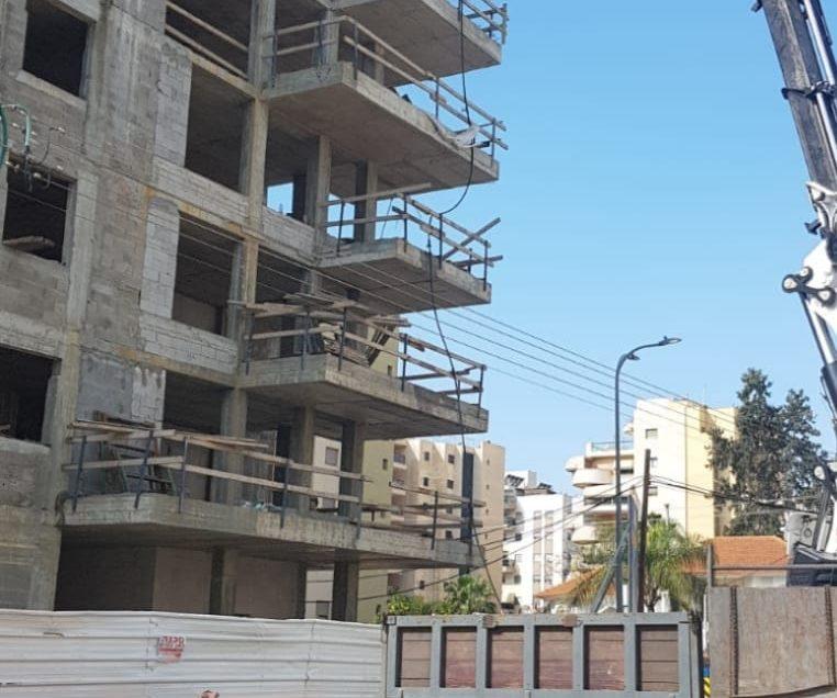 עפולה: פועל נפל מקומה שביעית באתר בנייה
