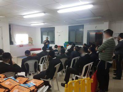מרפאת כללית הר יונה בנצרת עילית קיימה סדנת עזרה ראשונה