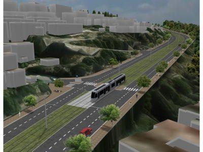 מגה פרויקט תשתיתי מורכב: הרכבת הקלה בדרך לנצרת עילית