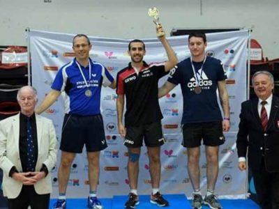 טניס שולחן: מיכאל טאובר ממועדון נצרת עילית זכה באליפות ישראל