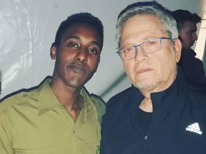 דניאל במפגש עם שלמה ארצי