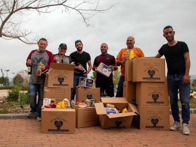 מבצע פסח: קרוב ל-1000 חבילות מזון חולקו לאוכלסיות מוחלשות וניצולי שואה בעפולה