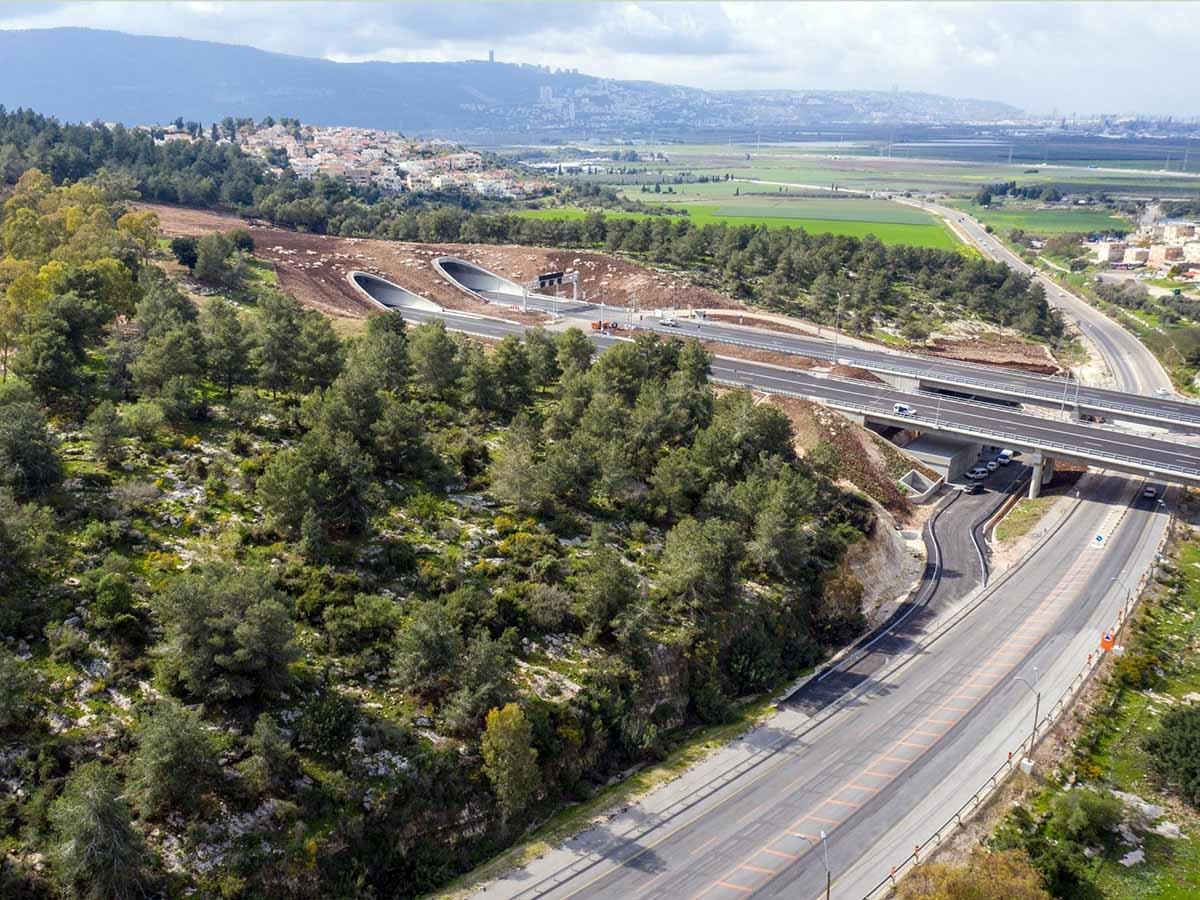 המקטע החדש צילום: באדיבות חוצה ישראל