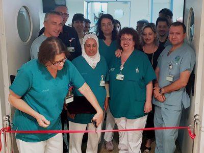 בשעה טובה- בית חדש למרפאות אורולוגיה ונפרולוגיה במרכז הרפואי העמק