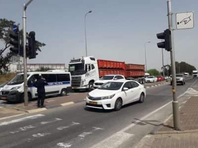 גלבוע: תאונה רבת נפגעים בסמוך לתל יוסף