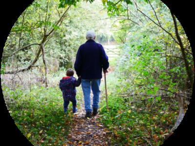 בחזרה לילדות- סבים ונכדים כותבים יחד