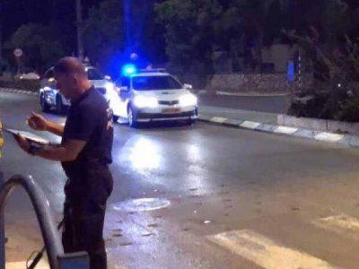 עפולה: מאבטח בן 70 נשדד ונפצע