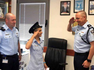מרגש: ילד מושתל לב וילדה הלוקה באוטיזם הגשימו חלום ושימשו כשוטרים ליממה