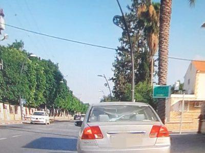 בית שאן: אישה נהגה ברכב בזמן פסילה כשבנה אינו חגור