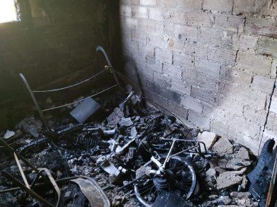 גניגר: מבנה מגורים עלה באש כתוצאה מהתפוצצות סוללה של אופניים חשמליים