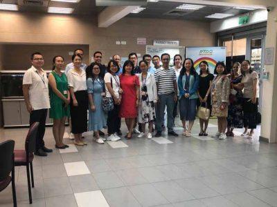 מיליארד סינים לא טועים: משלחת רפואית מסין ביקרה במרכז בריאות הילד בעפולה